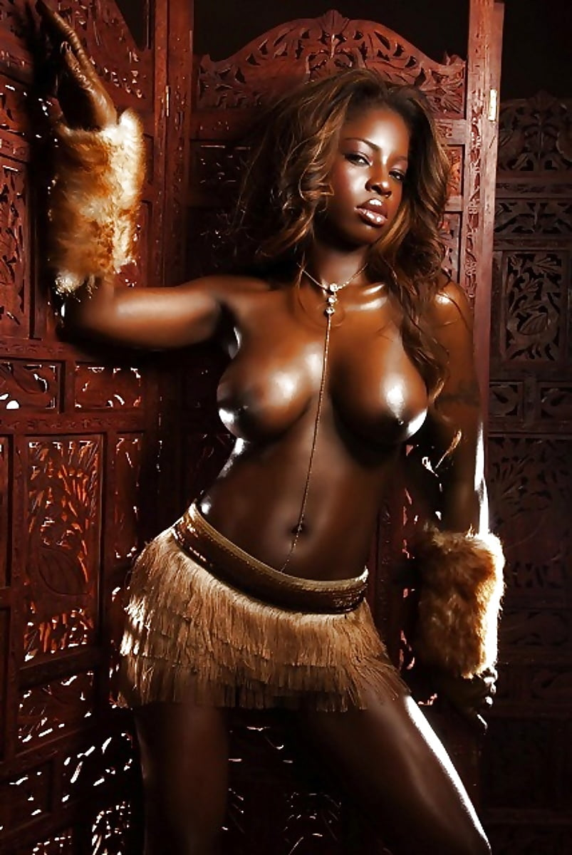 Sexy dark nubian girls — photo 4