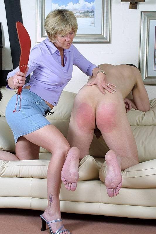 Miss penny barber spanking son makes mom horny