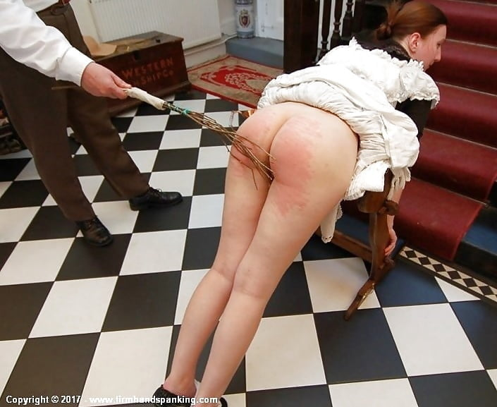 Naked Women Get Spanked