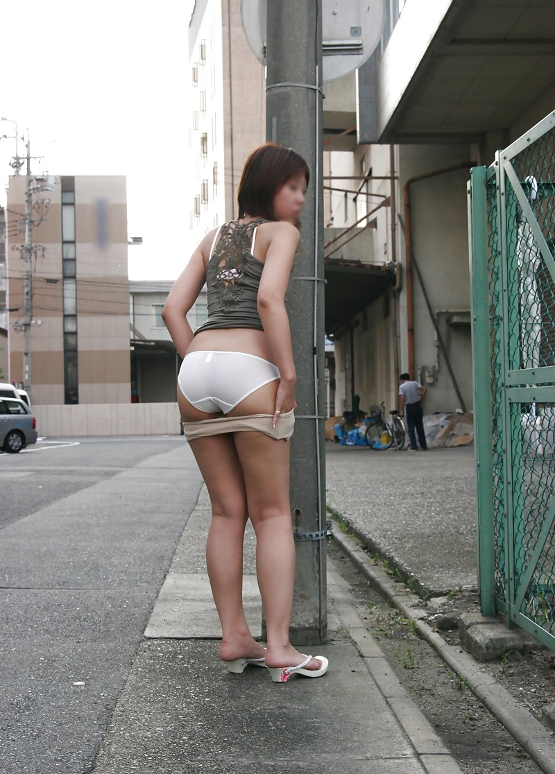 Asian Girls On Tight Panties Upskirt Voyeur Street - 230 -7598