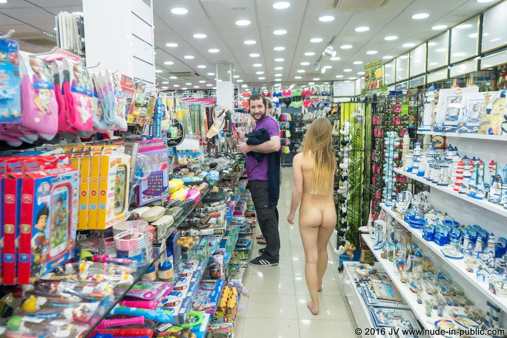 Very Public Nudity of Sarka - 43 Pics