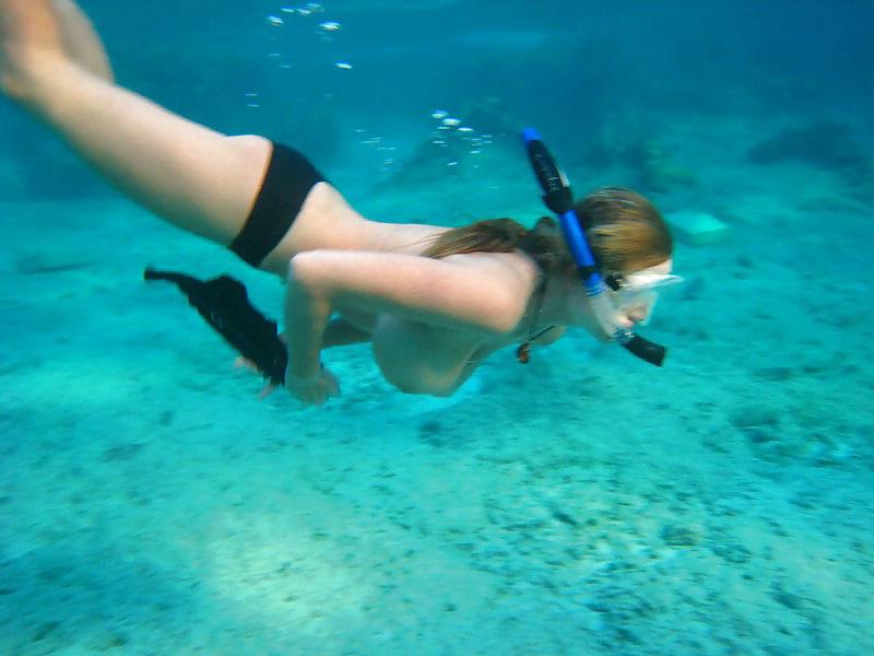 Cum snorkel — photo 10