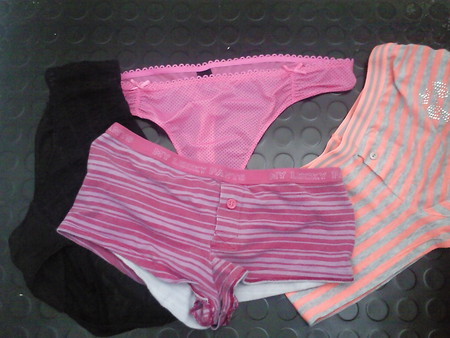 step-daughter's friend's pants