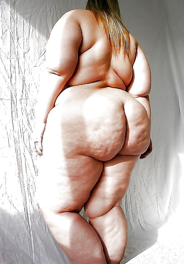 Super fat ladies butt naked — pic 9