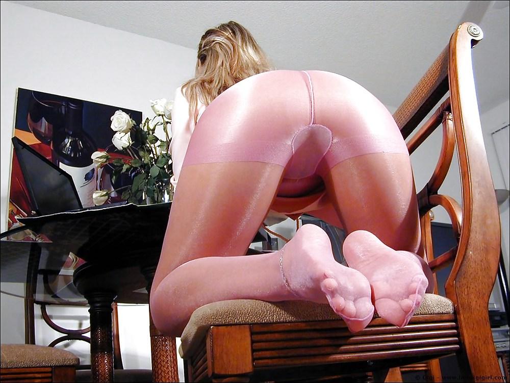 секс видео в колготках с узором - 10