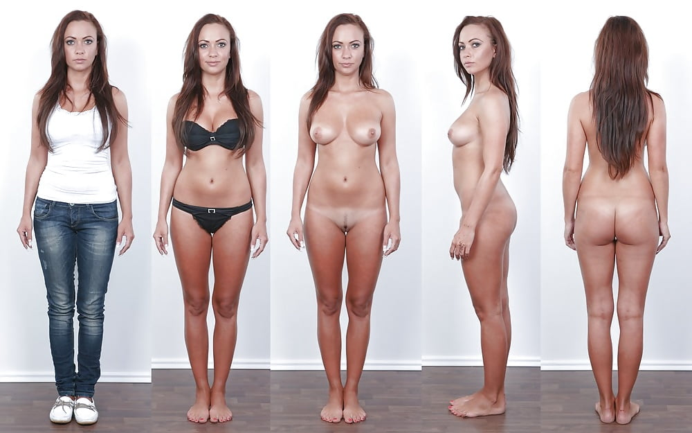 Clothed then naked pics