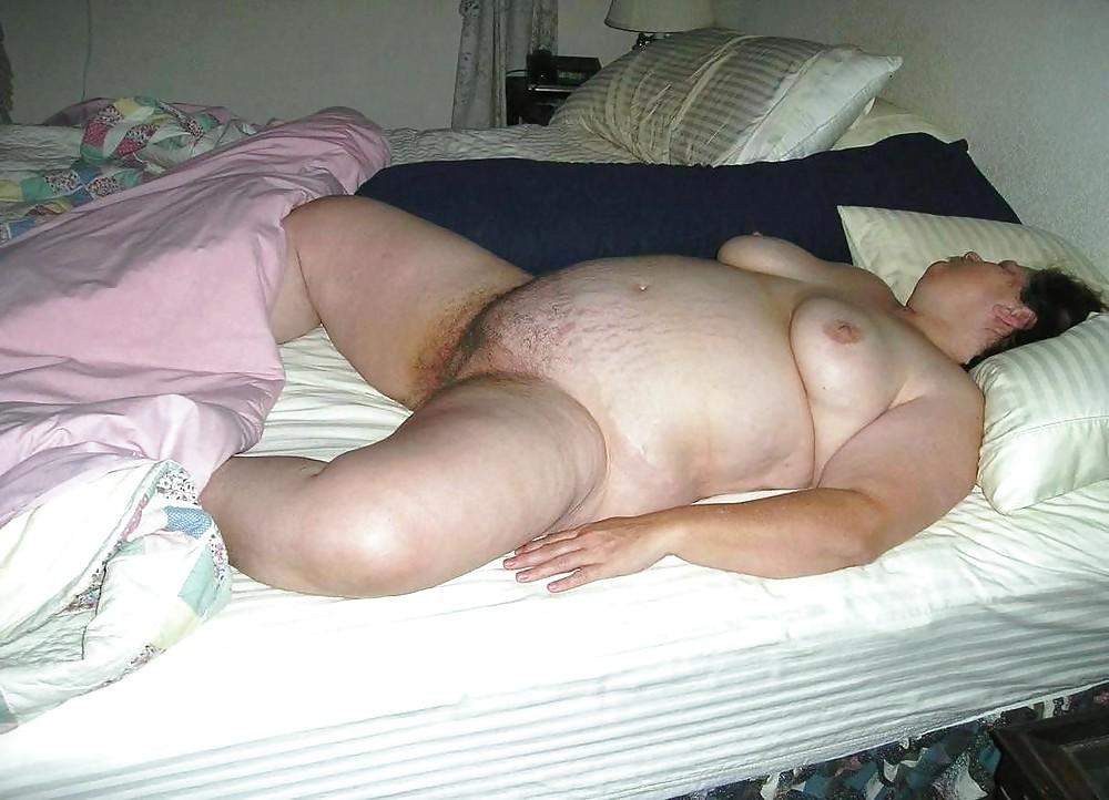 Голая толстая спи, смотреть порно супер дамы