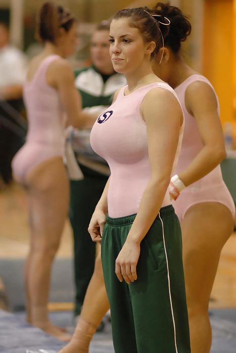 Big titted gymnastic sporty women #11