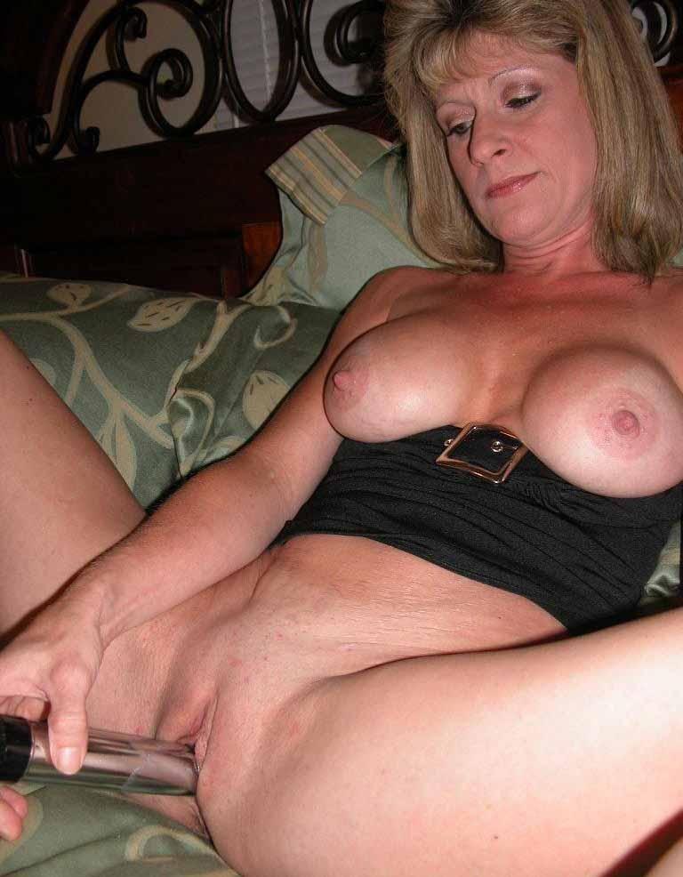 Sexy Milf Masturbates For You To Jerk Off