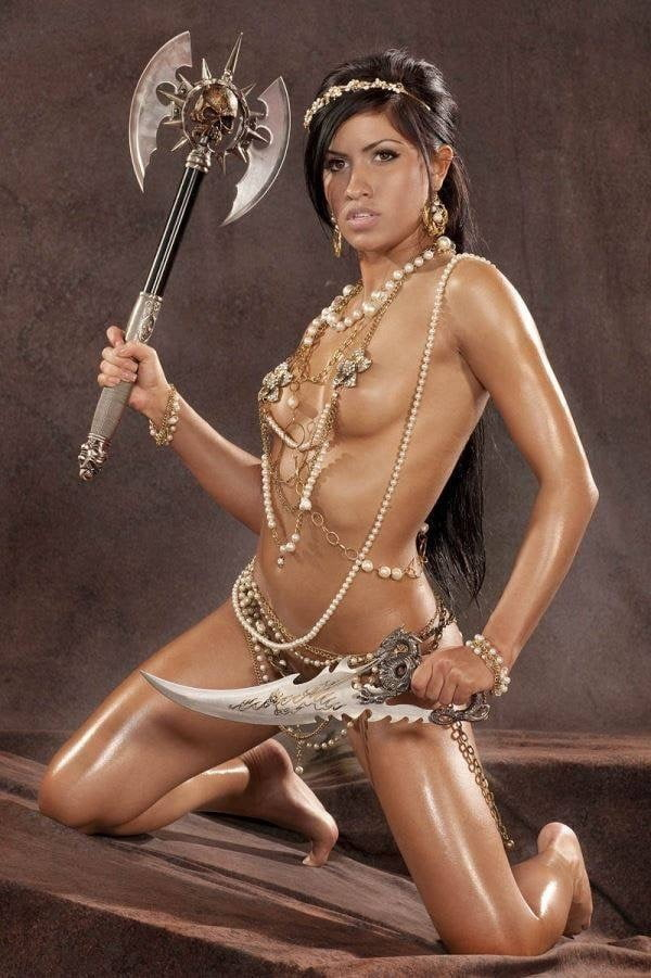 Porn warrior women nude clips woman