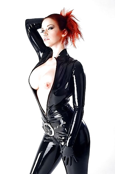 Desperate Belt Breasts Female Jacket Latex Pics 1