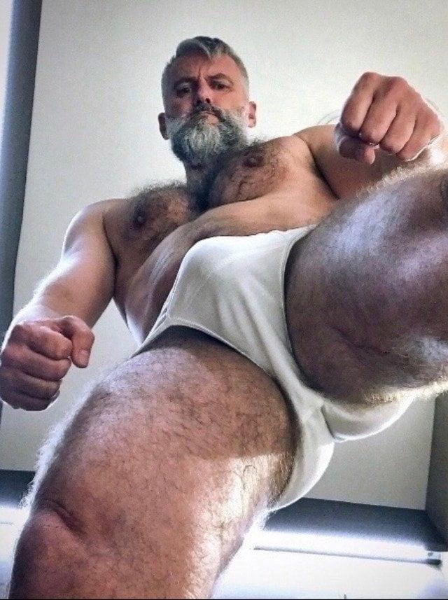 Bodybuilder Bulge
