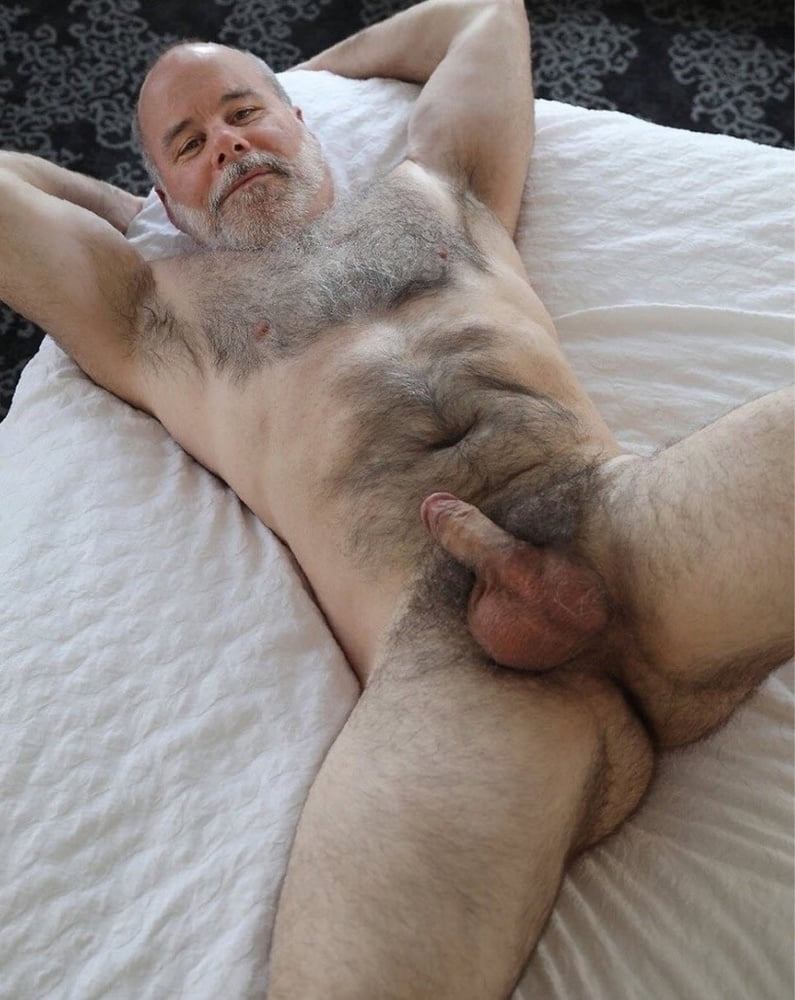 Black hairy naked daddy