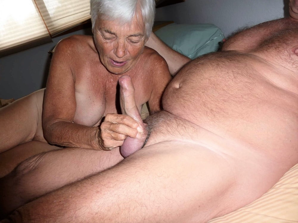Very old granny sex handjobs