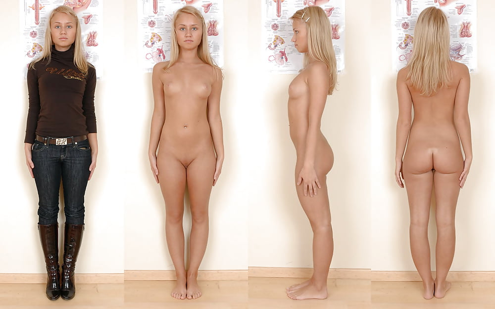 Standing shining pussy #11