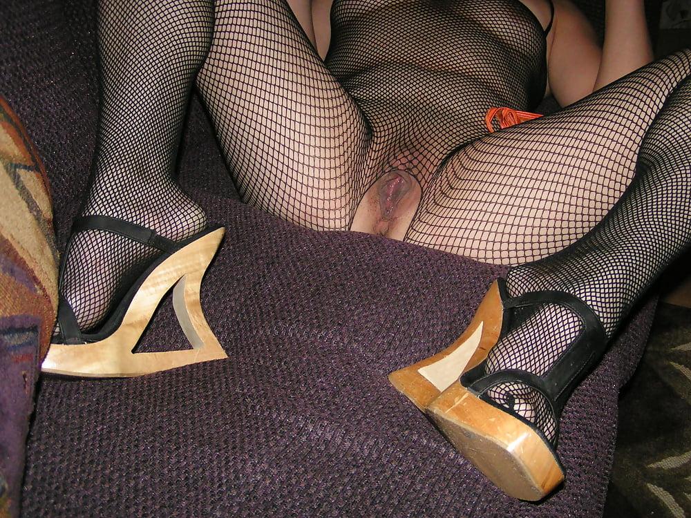 Xxx heels and hose