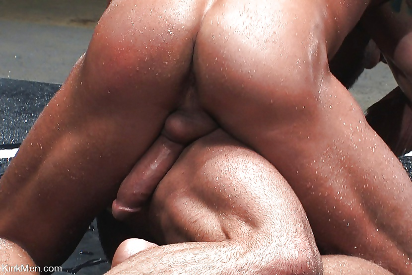 Black naked wrestling