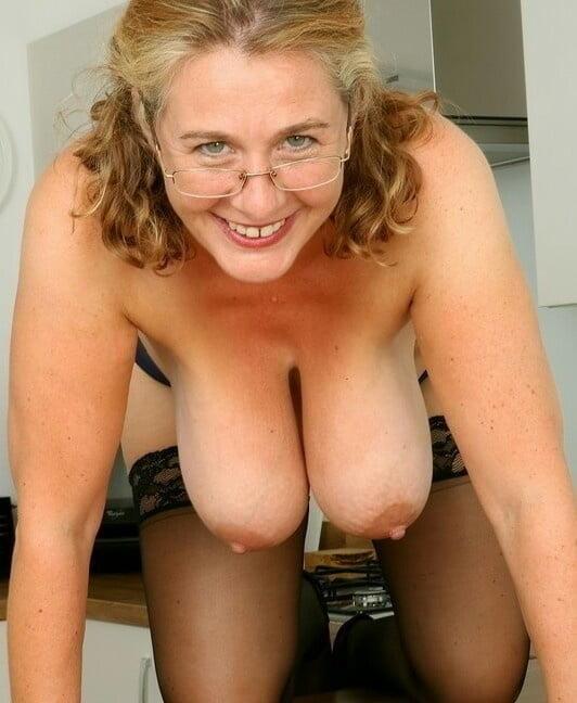 Mature Cougar Sucks Cock Pov