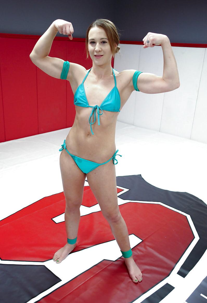 Cheyenne jewel owns billy boston on the wrestling mat - 2 9