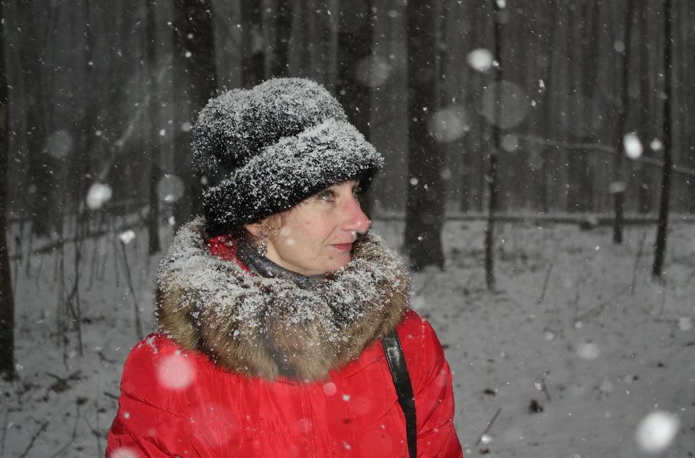 Snowy Day - 24 Pics