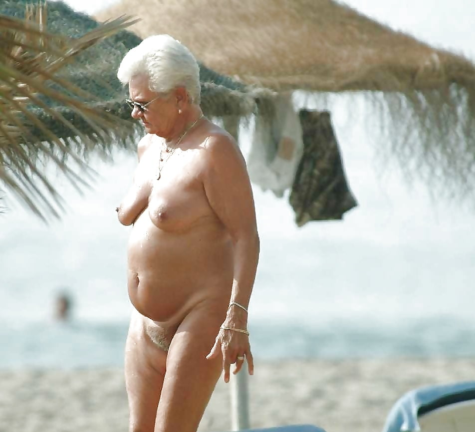 таком случае, пожилая на пляже эротика фото возбуждение