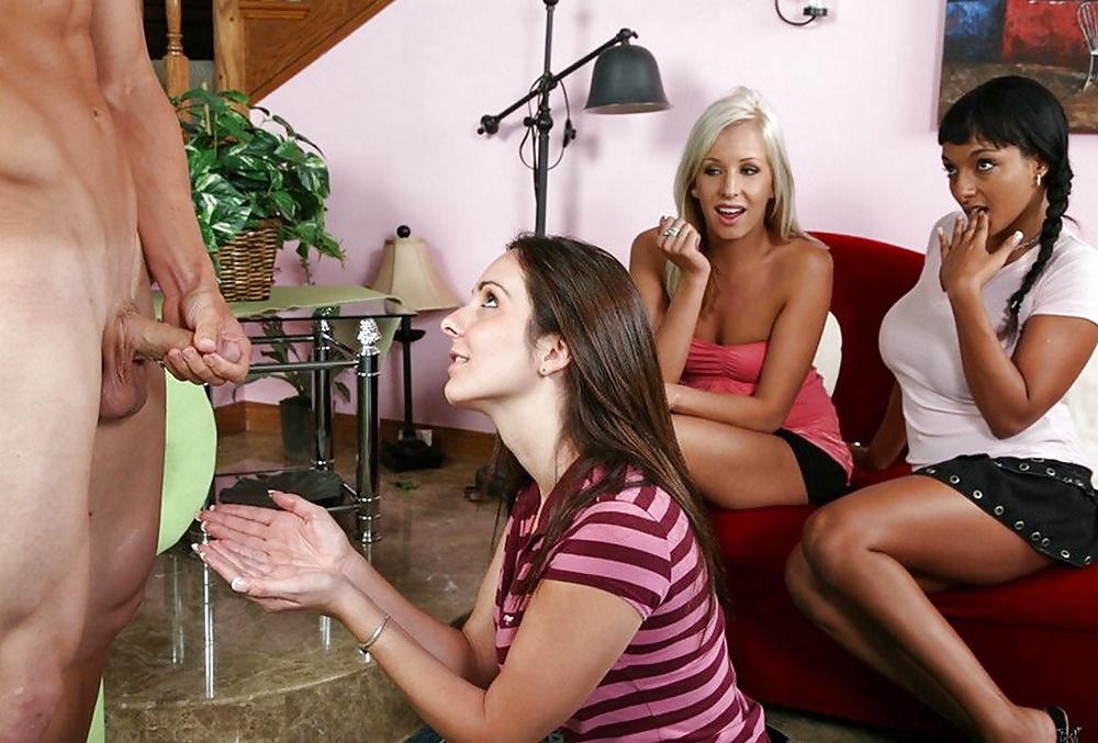 Mature Blonde Cfnm Babe Dominates With Handjob