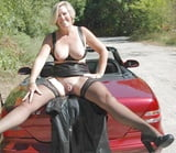 Grannies matures and milfs upskirt 96