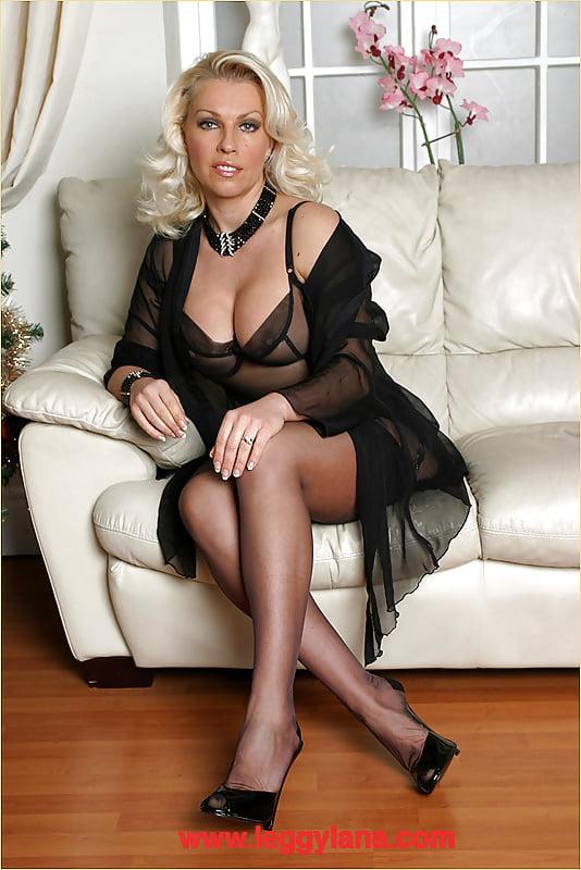 Шикарная дама секс