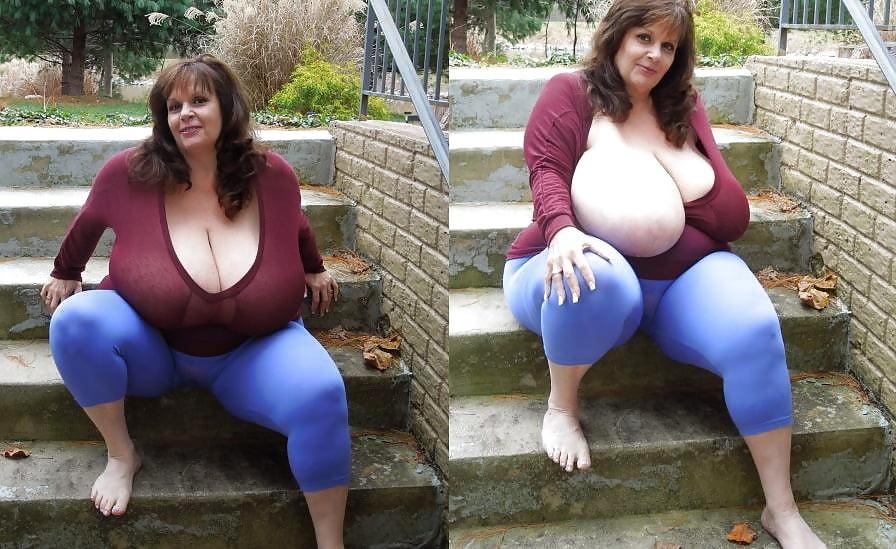 Woman naked curvy Big Tits