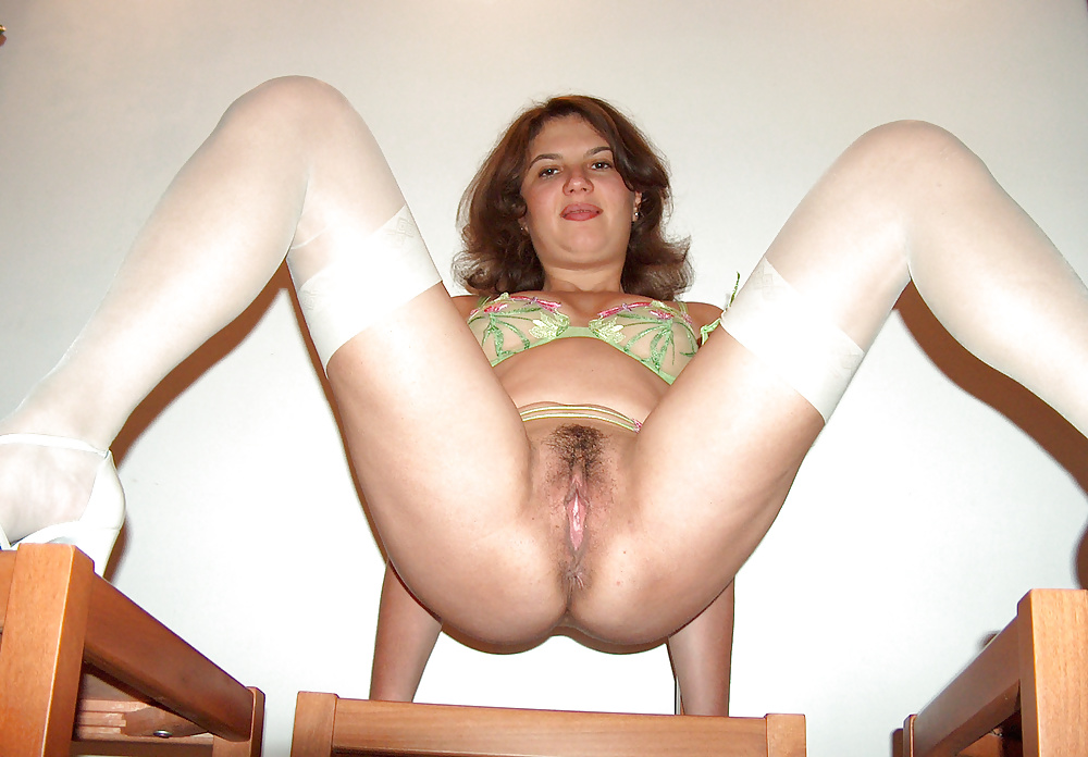 Wife in stockings spread pussy porn college