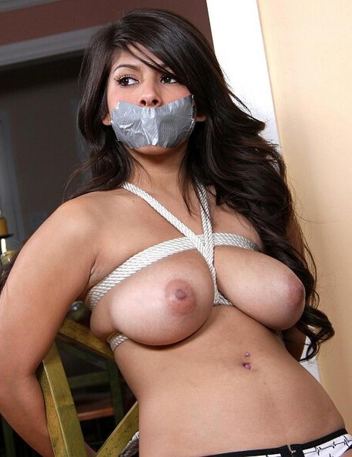 Breast bondage freeones