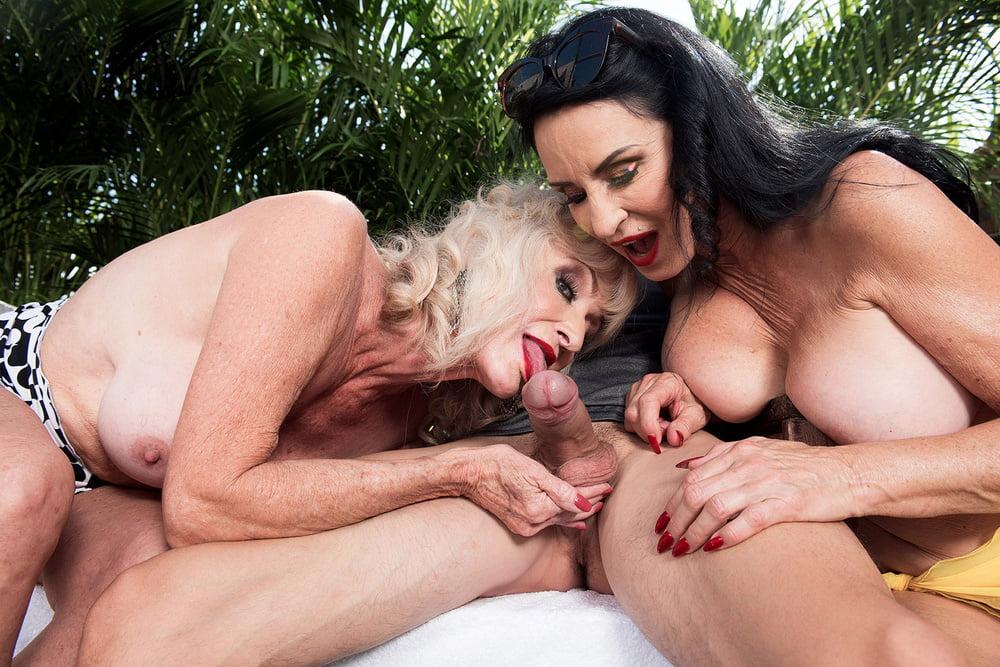 трио старушки порно - 10