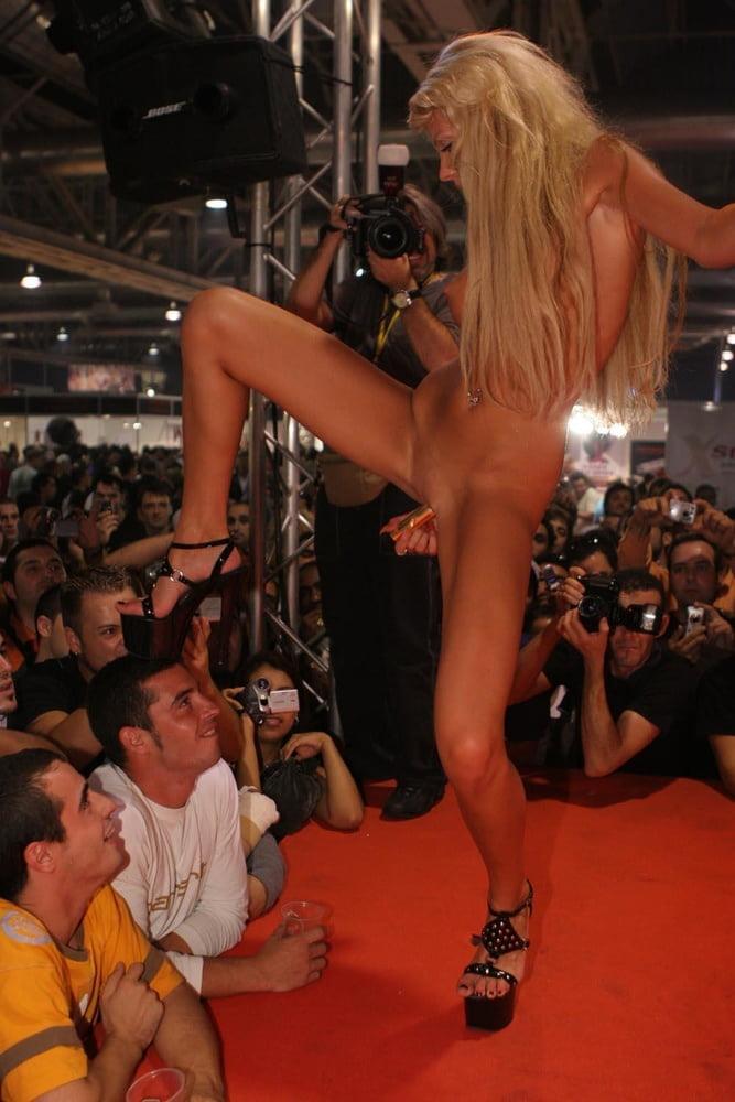 Glamorous woman show