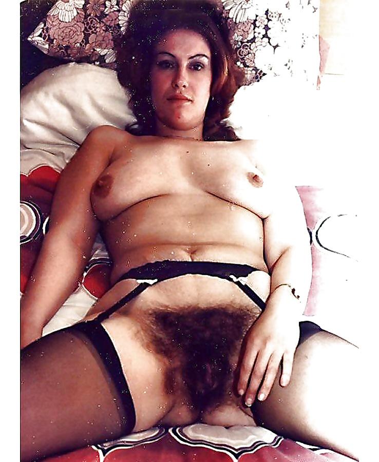 ретро фото мохнатых кисок дам женщин - 9