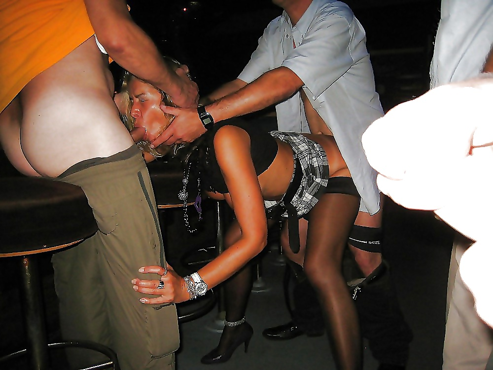 Girl Forced To Fuck In Bar