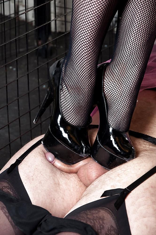 Femdom stiletto heels