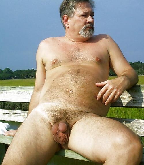 Ordinary older men naked