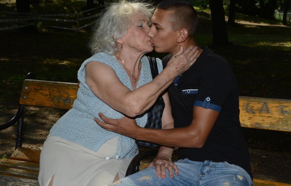 фото секс старых и молодых