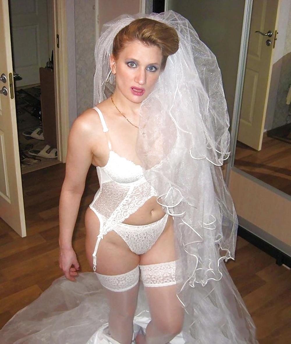 Частные эротические фотографии невест #12