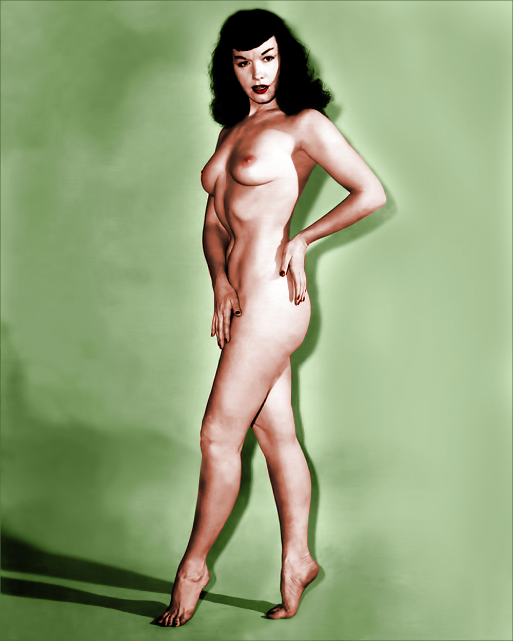 Bettypage photographs nude