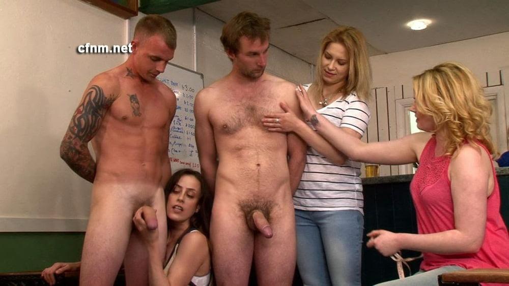 Cfnm women watching men get naked