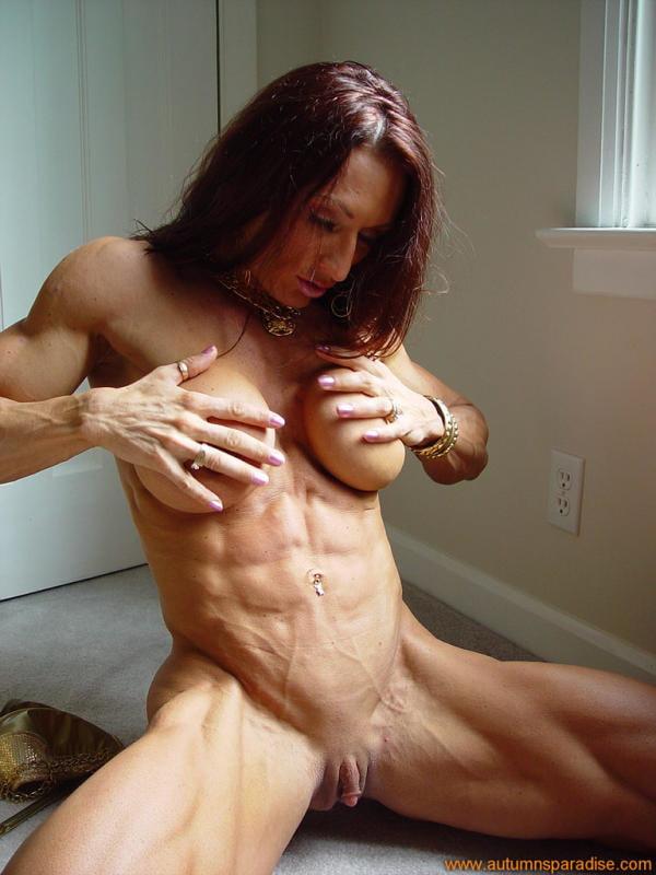 Bodybuilderin Gefickt