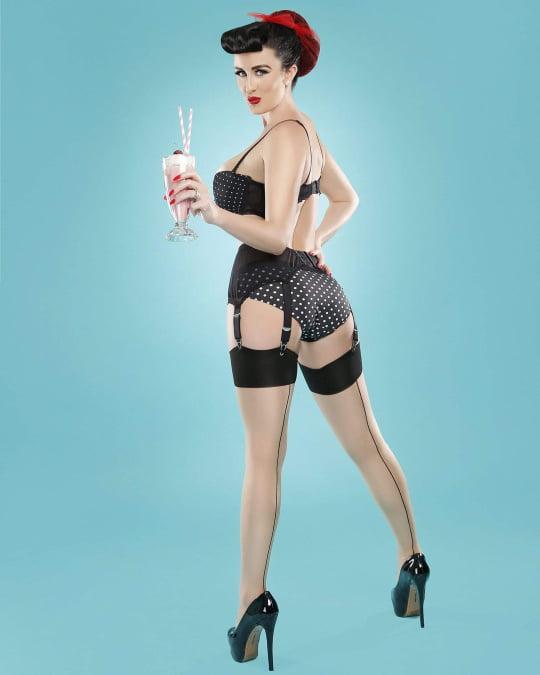 Nylon stocking legs pictures