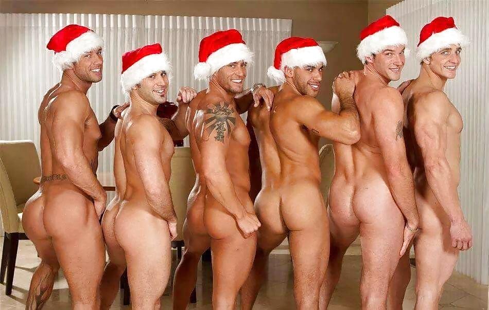 Free nude pics of naked gay santa