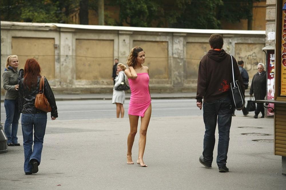 Показ секса на улице #14
