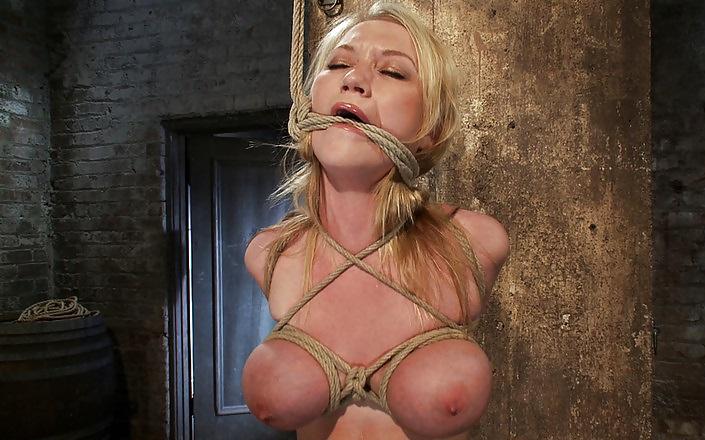 Big jugs porn star bdsm bondage and ejaculation