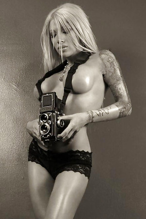 Girls caught topless