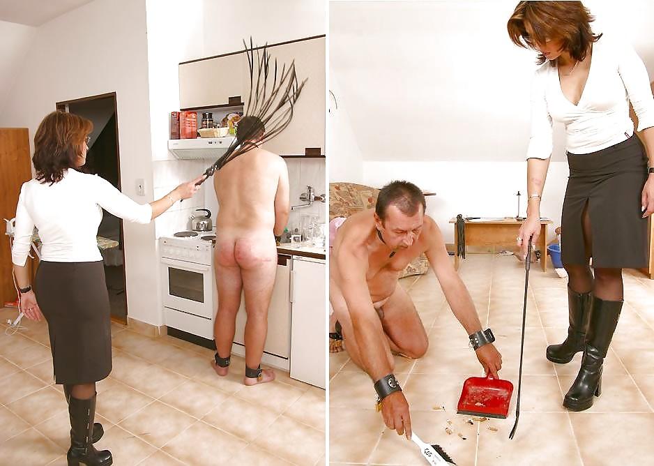 Femdom domestic chores, hot native american spread eagle
