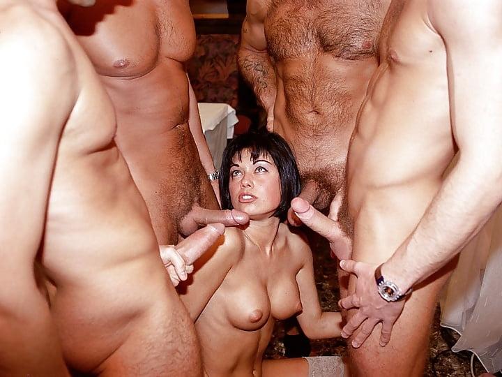 Big tits babe gives hot blowjob