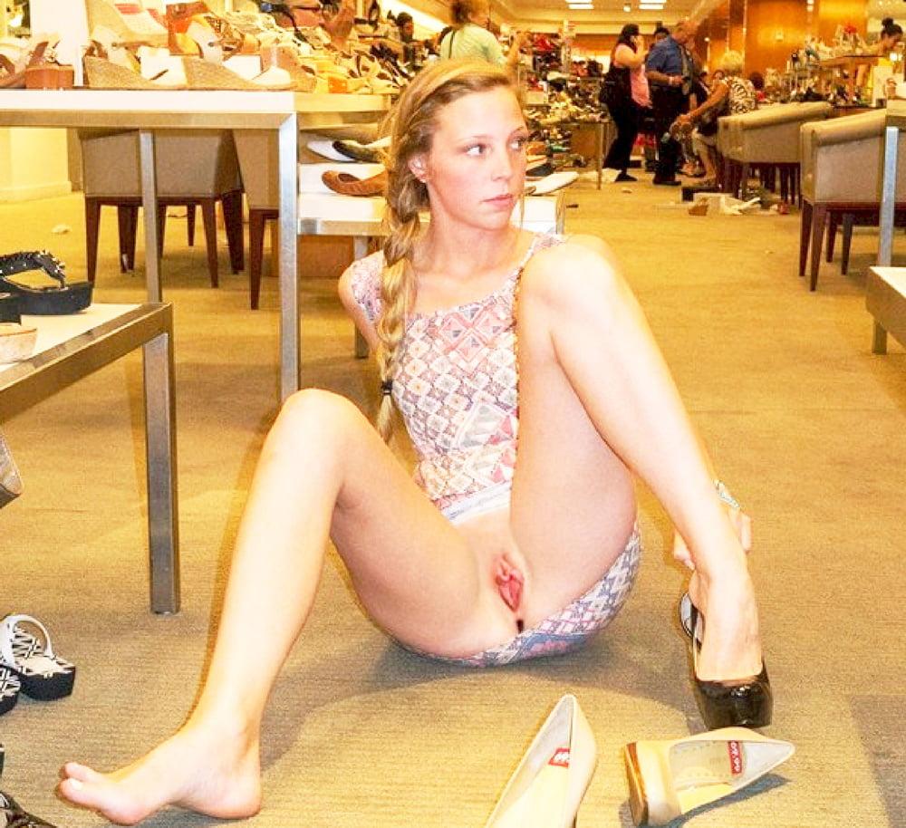 Nude young high heels
